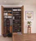 玄関用収納「クロークボックス」プラン例1(レジャースポーツ収納プラン+靴収納プラン)