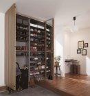 玄関用収納「クロークボックス」プラン例2(お出かけ収納プラン+靴収納プラン)
