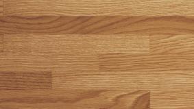 寄木調の床「アーキスペックフロアー ヨセギ」クリアオーク色