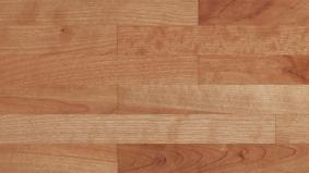 寄木調の床「アーキスペックフロアー ヨセギ」クリアチェリー色