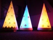 「クリスマスランプをつくろう!」作品完成イメージ