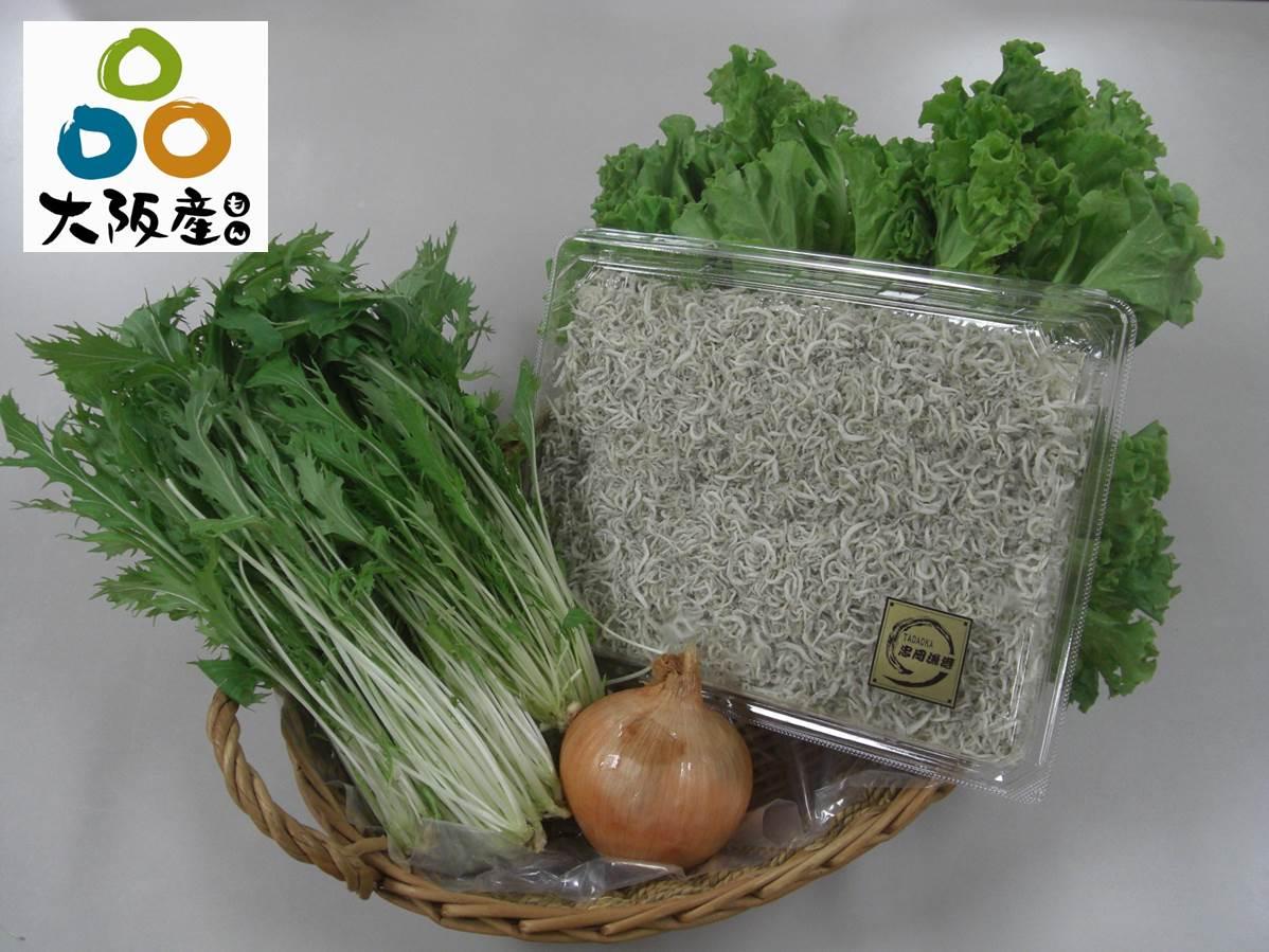 エコソリューションズ社の社員食堂で使用されている「大阪産(もん)」の食材