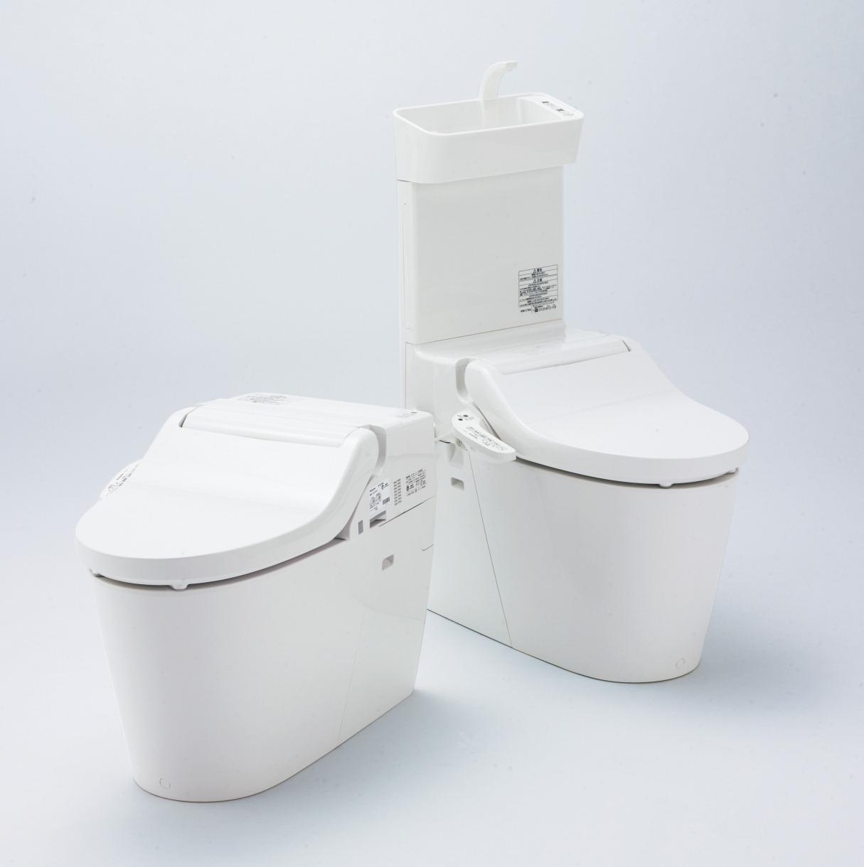 少ない水でキレイにするトイレ「New アラウーノV」
