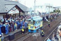 乾電池エボルタ「世界最長距離 鉄道走行」チャレンジ 22.615kmを走破!