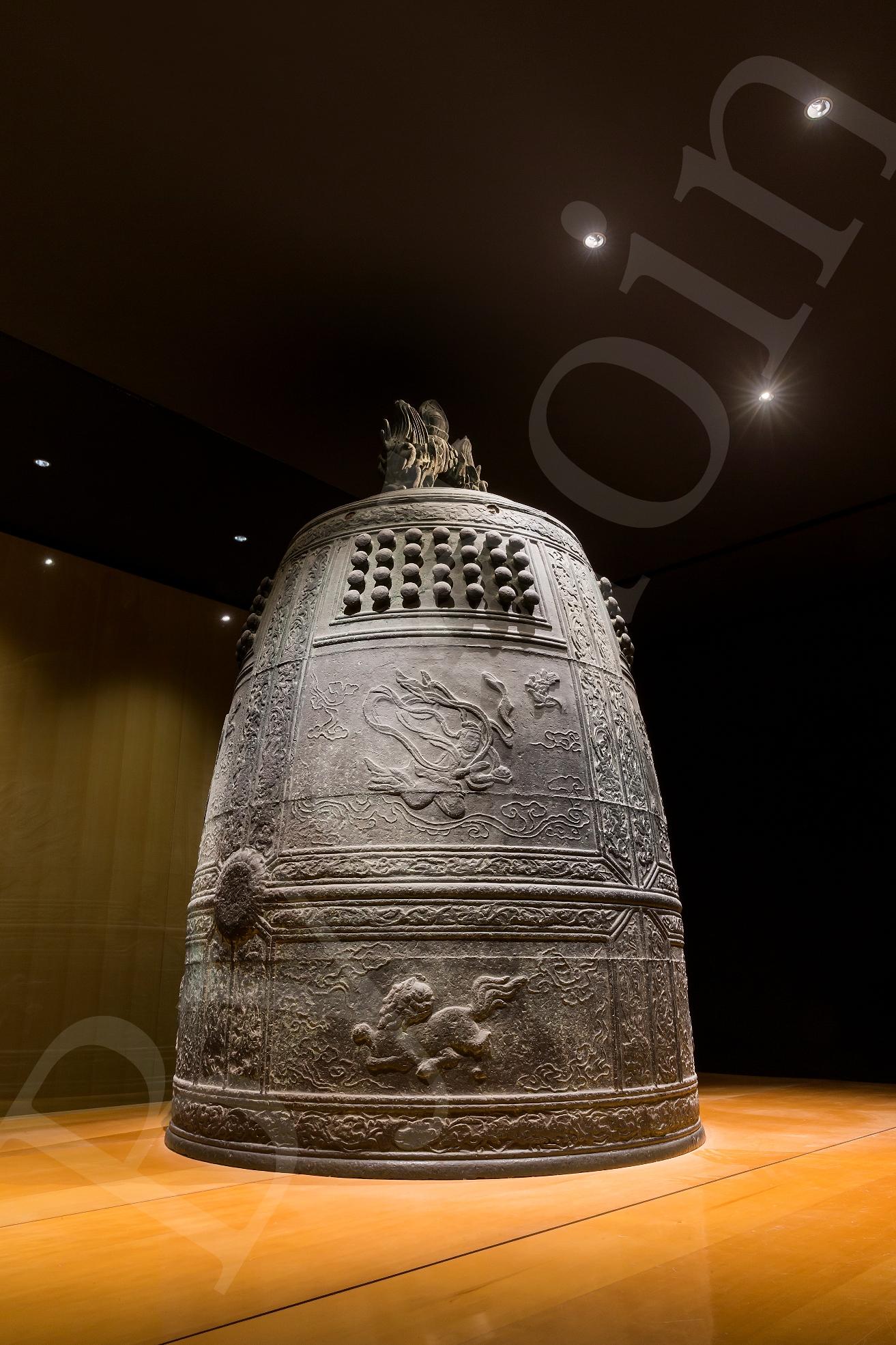 国宝「梵鐘」 平等院ミュージアム鳳翔館 収蔵