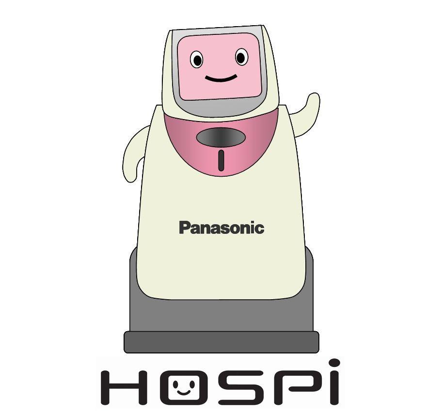 自律搬送ロボットシステム HOSPI(R) [ホスピー] キャラクター