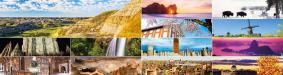 「ユネスコ世界遺産カレンダー」2016年版 月毎のイメージ