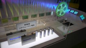 パナソニックの車載用リチウムイオン電池は供給量世界No.1を誇る