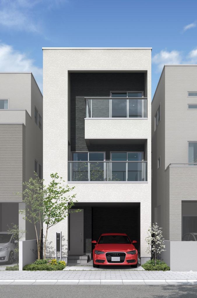 耐震住宅工法「テクノストラクチャー」3階建て「STELLATRE(ステラトーレ)」