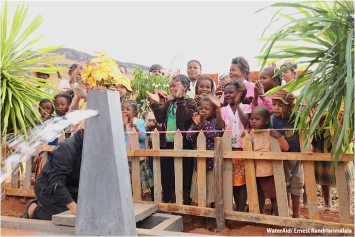 アフリカ分野:ウォーターエイドジャパン『アフリカの水・衛生問題についての普及・啓発活動』