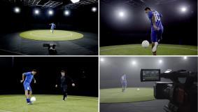 ネイマール Jr.選手の本拠地バルセロナで 「360° OBSERVATION CAM」の映像を撮影