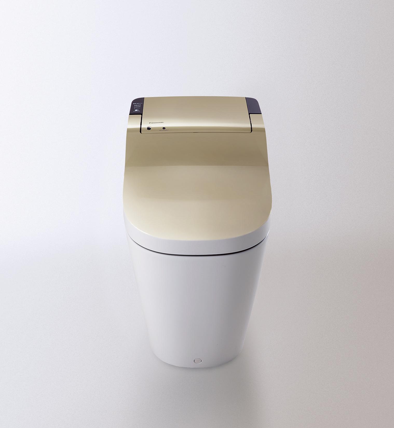 全自動おそうじトイレ「新型アラウーノ」シャンパンゴールド(累計販売台数100万台達成記念限定モデル)