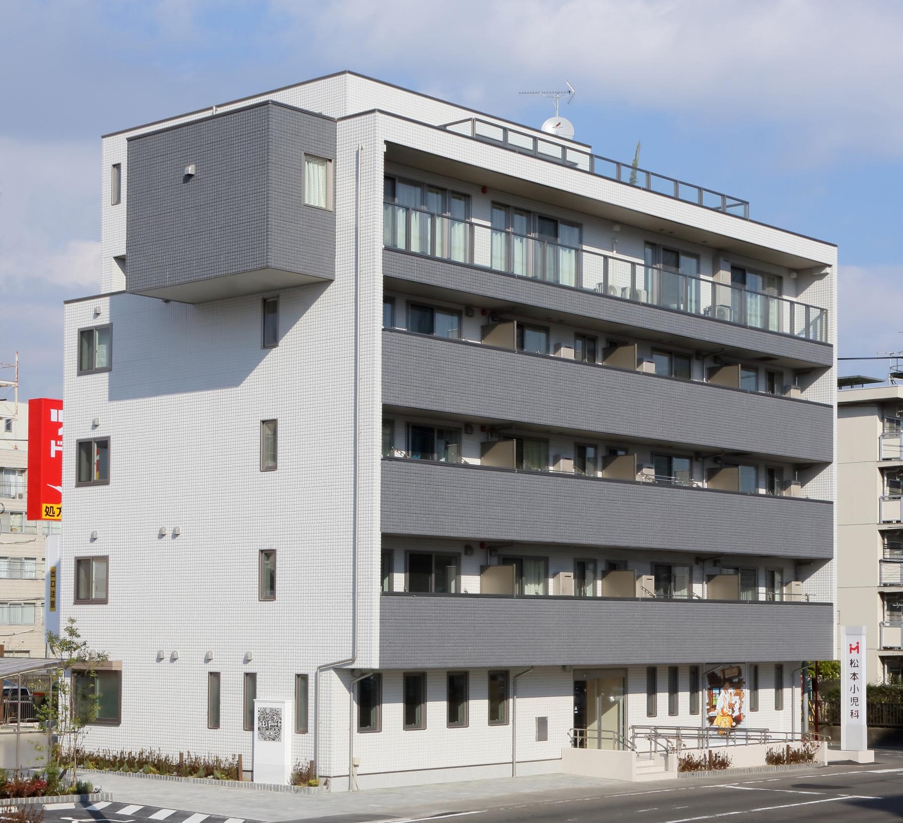 【Vieuno】6階建 太白区ビル(自宅・医院・賃貸併用プラン)