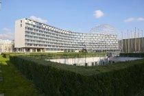 フランス パリ市内のユネスコ本部ビル