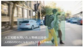 活動紹介例:高精度リアルタイム人物検出技術 - Panasonic AI
