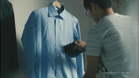 忙しい朝はパナソニックの「衣類スチーマー」が大活躍