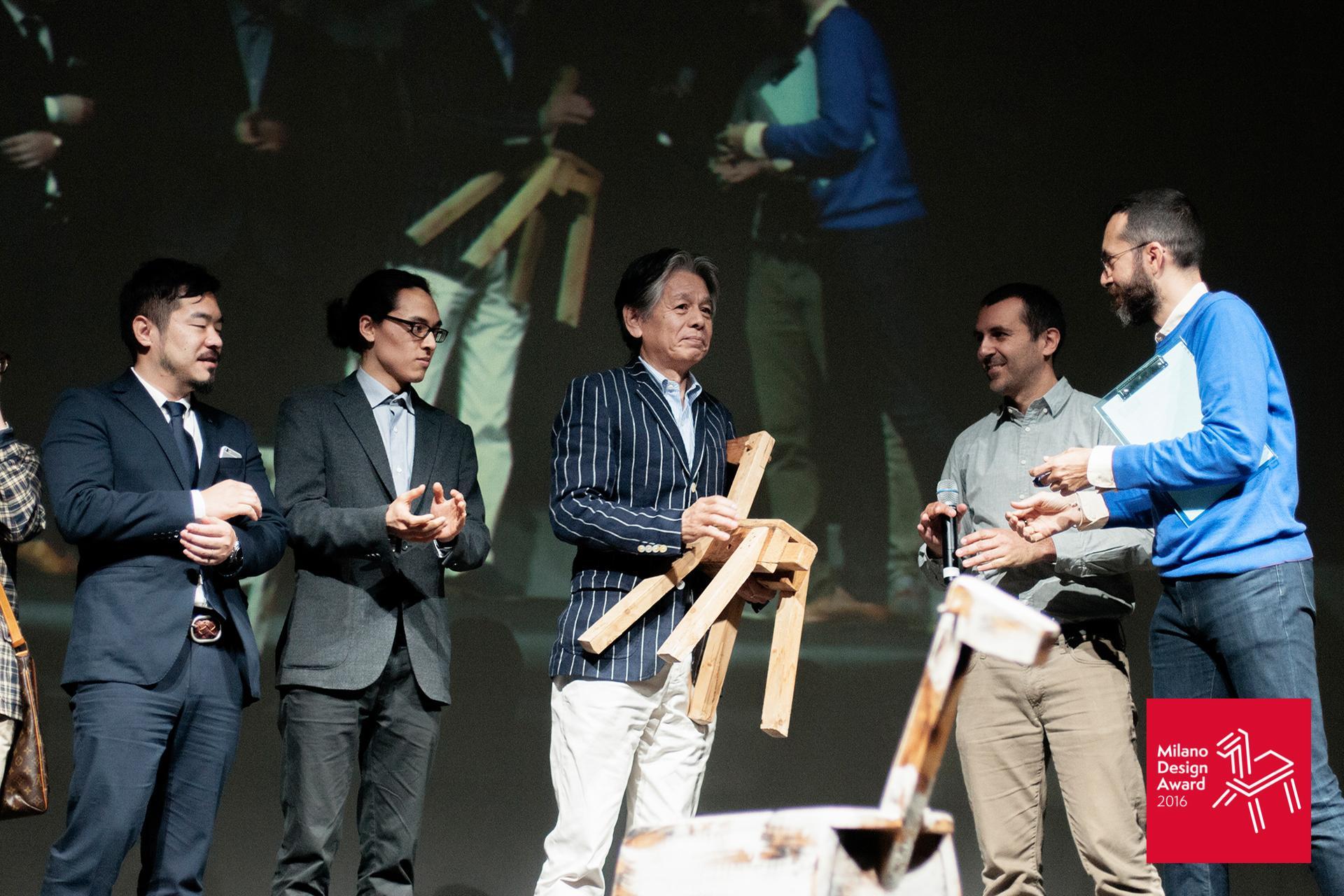 4月17日に行われた授賞式の様子。Teatro Franco Parenti(ミラノ)会場にて