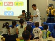 大阪科学技術館による「科学実験教室」