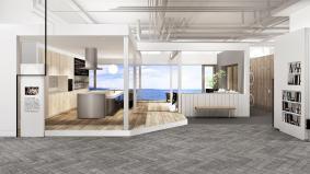 『パナソニックセンター大阪』ライフスタイル提案例「海のパノラマビューのある生活」