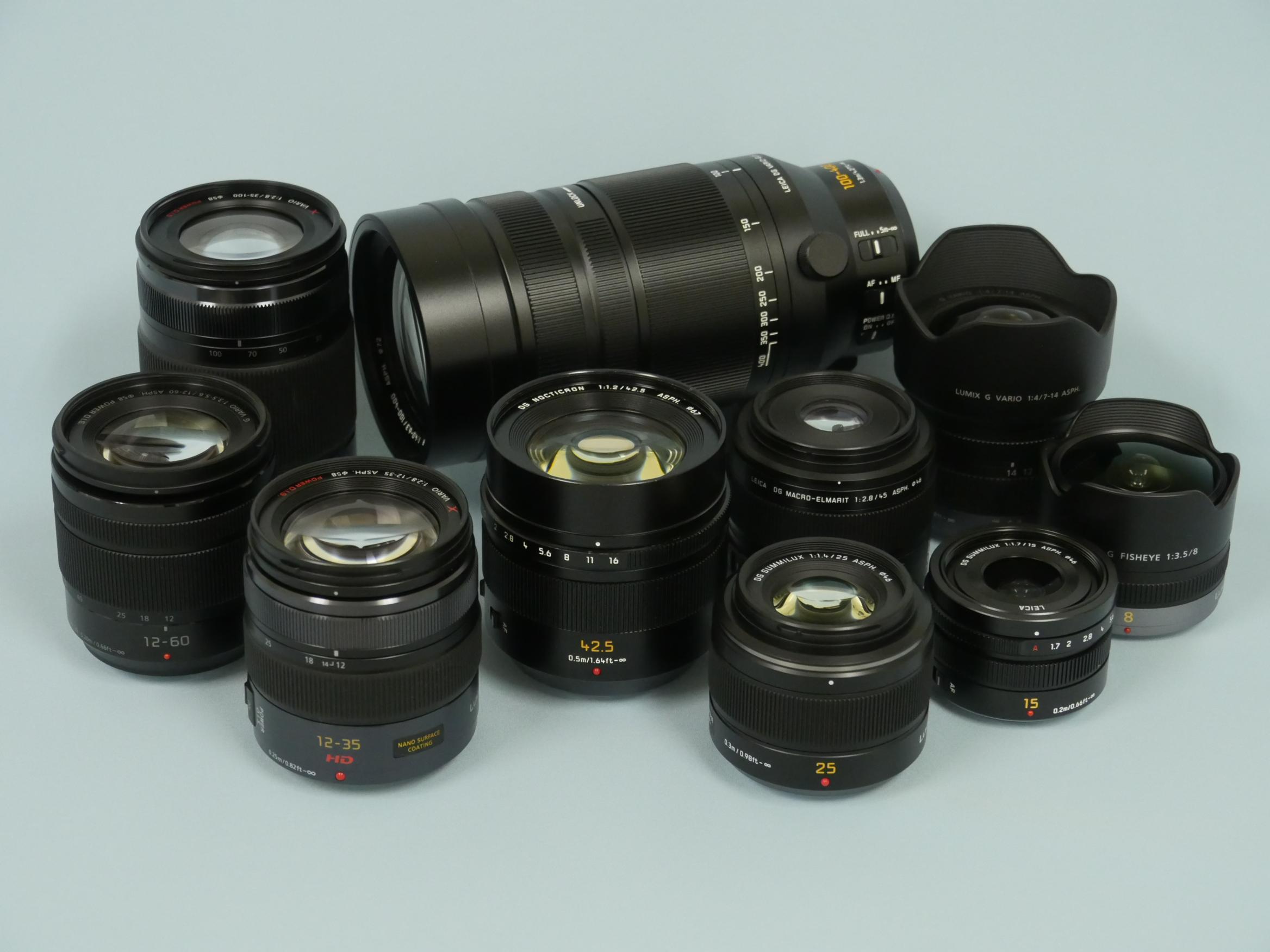 「ルミックス ステーション大阪」にて交換レンズのレンタル(有料)を開始