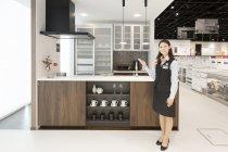 【パナソニック リビング ショウルーム いわき】システムキッチンコーナー(1)