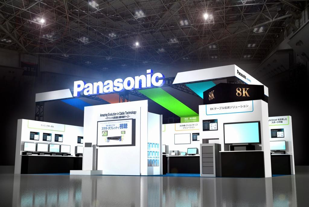 「ケーブル技術ショー2016」 パナソニックブースイメージ[展示ホール 小間番号66]