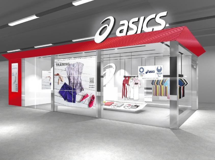 パナソニックがアシックスの提案型直営店舗を技術サポート@京浜急行電鉄 品川駅構内