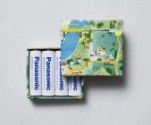 来場プレゼントのオリジナル電池ケース(写真はイメージです。数量限定。電池は含みません)