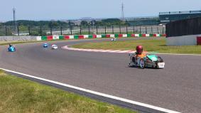 「2016 Ene-1 GP SUZUKA」KV-40チャレンジの様子
