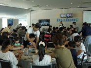 「2016 Ene-1 GP SUZUKA」手づくり乾電池教室の様子