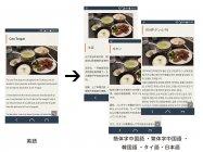 クリス・ブロード氏の食レポブログを全6言語で配信