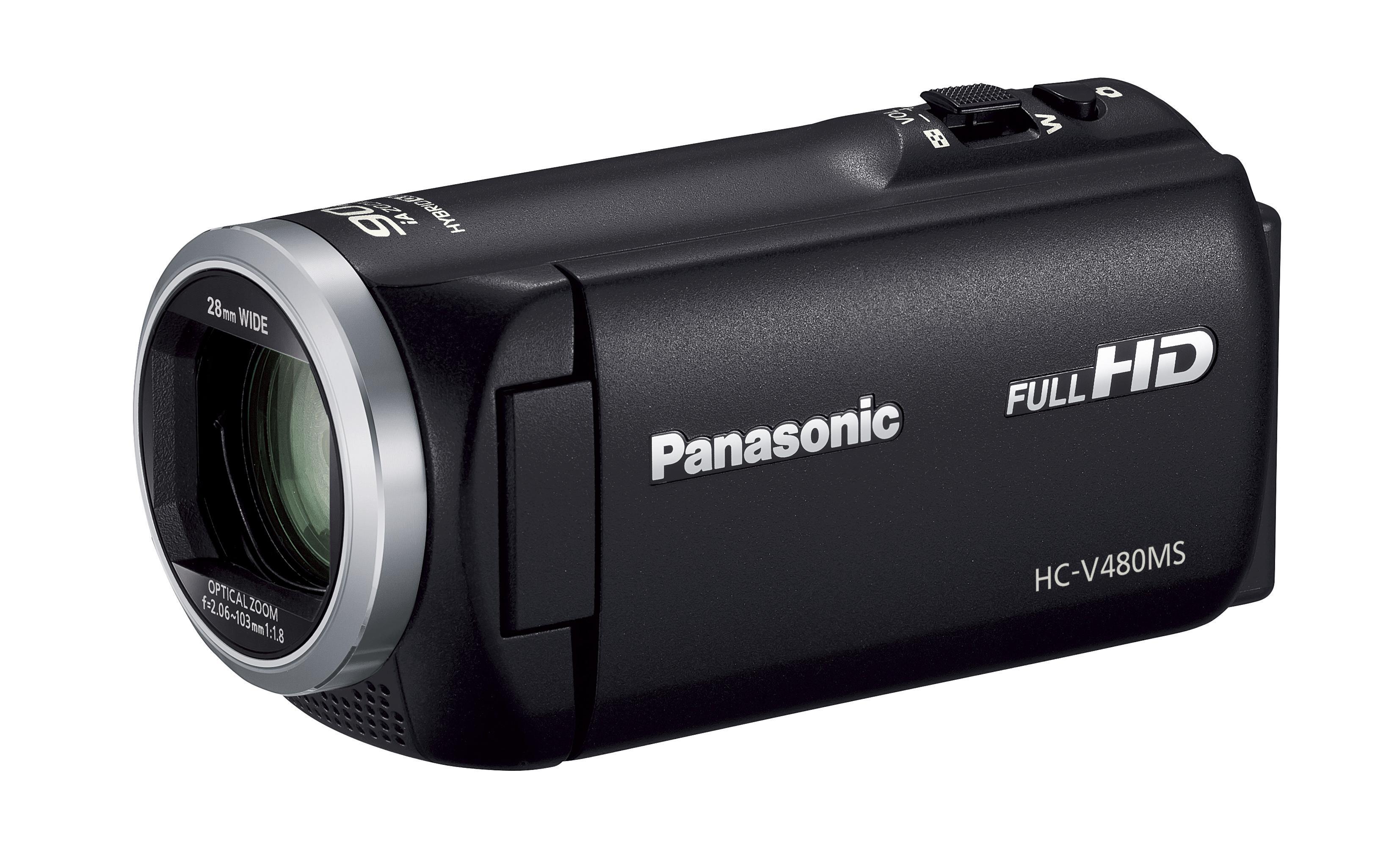 パナソニック デジタルハイビジョンビデオカメラ「HC-V480MS-K」