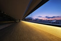 成田国際空港 第二旅客ターミナルビル 連絡通路(到着コンコース)