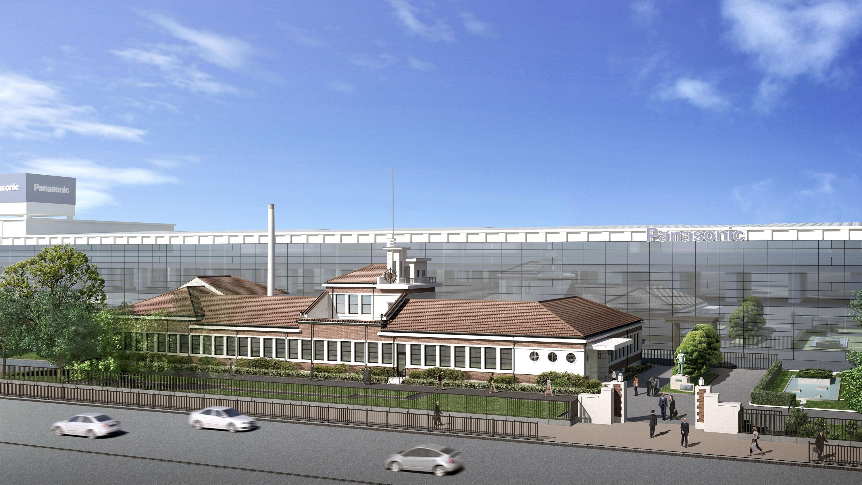 新歴史館 外観(鳥瞰) イメージ