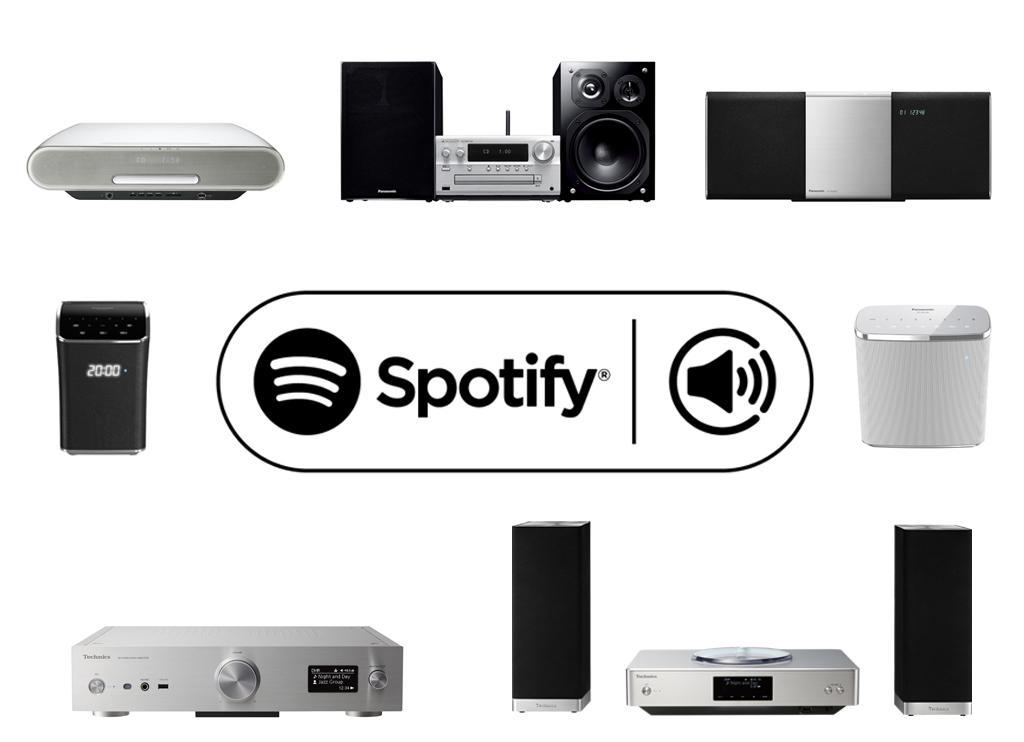 パナソニック/テクニクスのネットワーク対応オーディオ機器が「Spotify」に対応