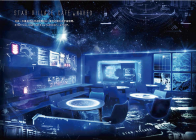 「STAR VILLAGE CAFE by NAKED」内 演出例(1)