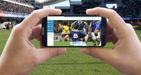 パナソニックがモバイル動画配信サービスの実証実験を実施@「ジャパンラグビー トップリーグ」