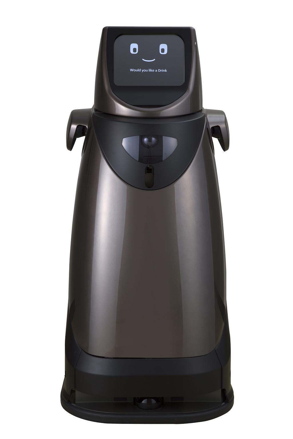 自律搬送ロボット「HOSPI(R)」(正面)