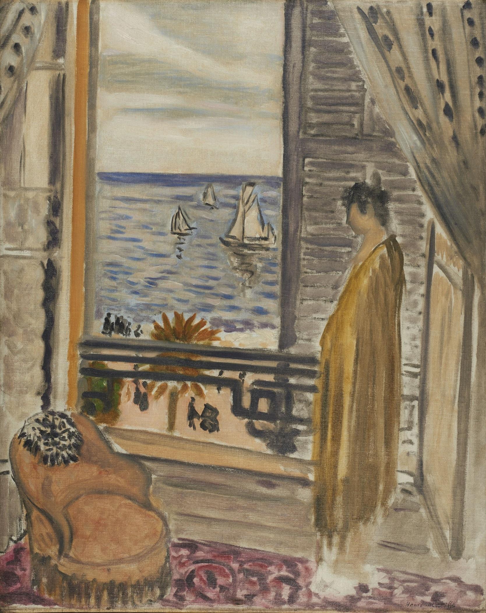アンリ・マティス 「窓辺の女」 1920年 - みぞえ画廊
