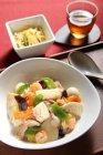 主菜『たっぷり野菜の海鮮中華丼』 ウィークックナビ「3日間分の夕食作り置きサービス」
