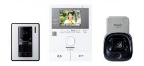 ワイヤレスカメラとセットになったテレビドアホン VL-SVD302KLC