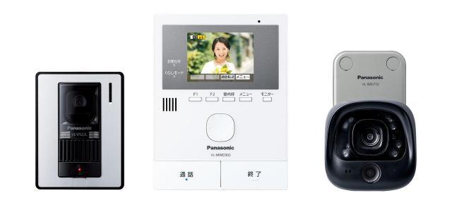 パナソニックのテレビドアホンにワイヤレスカメラとセットになったVL-SVD302KLCが登場~センサー付屋外ワイヤレスカメラで気になる場所を見守り