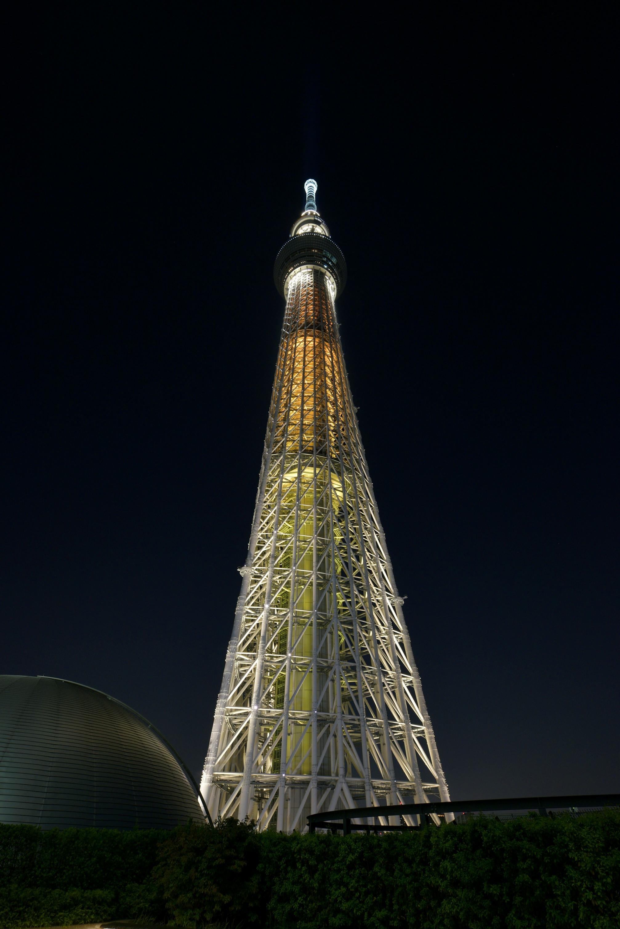 東京スカイツリー(R)5周年 記念ライティング「幟(のぼり)」