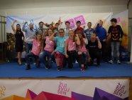 チェコで行われたYCM+とKWNによる共同イベント 集合写真
