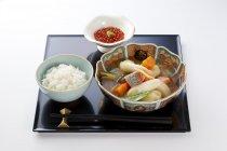 北海道「ゆめぴりか御膳」@至高の一膳 食べ比べ亭