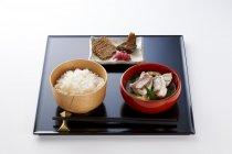秋田県「あきたこまち御膳」@至高の一膳 食べ比べ亭