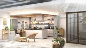 パナソニックセンター大阪 住空間展示「ふたりの時間が生まれるマンションリノベーション」(イメージ)