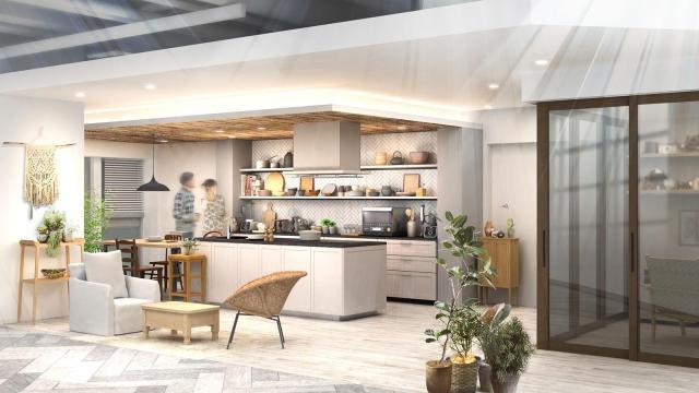 【パナソニックセンター大阪】住空間展示「ふたりの時間が生まれるマンションリノベーション」をオープン~PanasonicリフォームのCM空間を再現