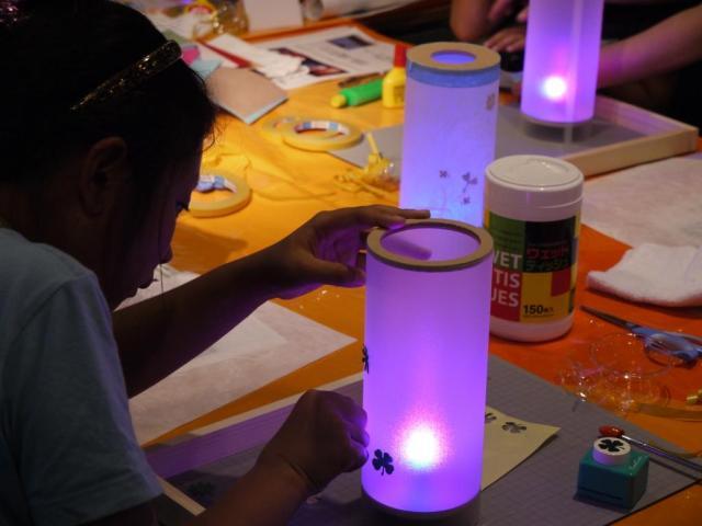 親子LED工作教室「さぁ、夏休み!親子でつくろうLEDのあかり」全国各地のパナソニック リビング ショウルームで開催