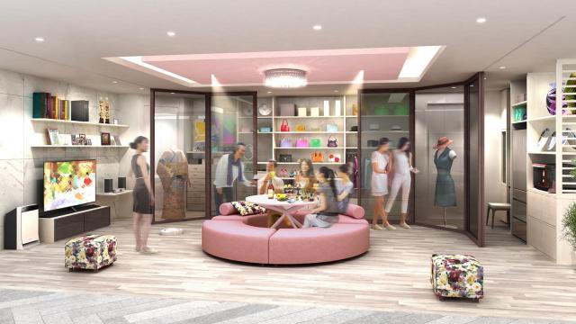 【パナソニックセンター大阪】ハイヒール・モモコさんのアイディアが満載の住空間展示をオープン~「好きなものに囲まれる宝石箱リビング」